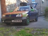 ratted mk2 breadvan, with spare tyre