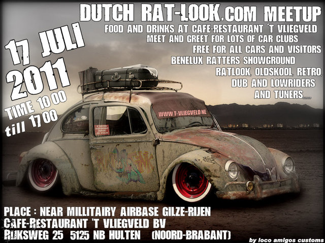 For The Rat Look Hoodride Nu Abused Drift Bosozoku Rusty Euro